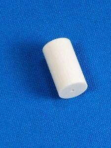 (1) IVORINE 4  - 1.00 inch Capped & Threaded Pool Cue Ferrule - Cue Repair