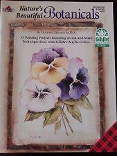 Nature's Beautiful Botanicals by Dolores Lennon Plaid Decorative Painting Book