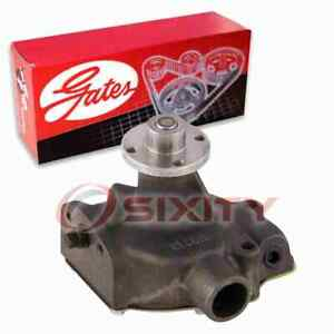 Gates Engine Water Pump for 1949-1950 Plymouth Deluxe 3.6L L6 Coolant xq