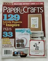Paper Crafts Magazines Vol 36 No 1 2013 Card Making Paper Projects Ideas