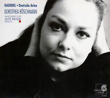 HAENDEL : DEUTSCHE ARIEN - DOROTHEA RÖSCHMANN / CD - TOP-ZUSTAND
