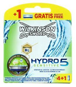 Wilkinson Sword Hydro 5 Sensitive Blades 5'S (4+1)