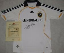 DAVID BECKHAM  Hand Signed Galaxy Jersey + PAAS COA *BUY AUTHENTIC*