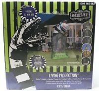9ft Beetlejuice Sandworm Tombstone Living Projection Gemmy Halloween Inflatable