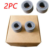 2 PCS Pickup Rollers Feed Rubber for Epson Scanner DS510 DS520 DS560 DS760 DS860