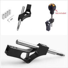 Adjustable Aluminium Automobiles Gear Shift Knob Extender Extension Lever Black