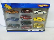 Hot Wheels 10 Car Pack w Ford Mustang