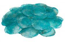 NaDeco® Camar azure 0,5kg | Capiz | Perlmuttscheiben | Perlmutt Scheiben | Hochz