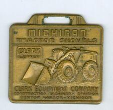 Vintage Michigan Tractor Shovels, Buran Equipment Co. Oakland, Santa Clara FOB