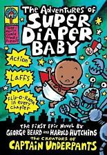 The Adventures of Super Diaper Baby by Dav Pilkey (2014, Hardcover)
