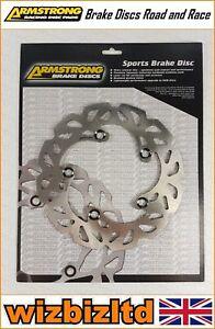 Armstrong Trasero Disco de Freno Ondulado Yamaha YZF-R1 2004-2006 BKR815