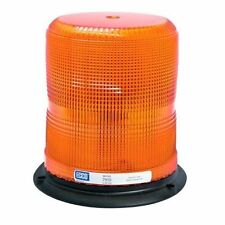 "ECCO 7950A LED Lamp Light Beacon 3 Bolt 1"" Pipe Mount Pulse II Flash Amber 7"""