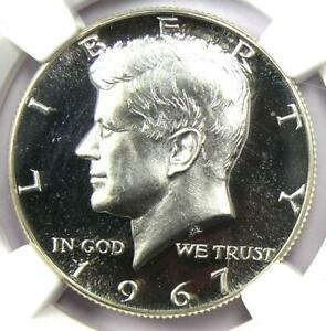 1967 SMS Kennedy Half Dollar 50C Coin - NGC MS67 Ultra Cameo - $975 Value!