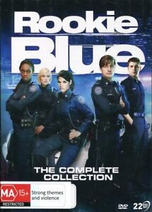 Rookie Blue The Complete Collection DVD NEW Region 4