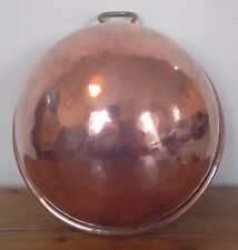 vintage Divertimenti London copper mixing bowl, copper, metalware, kitchenalia