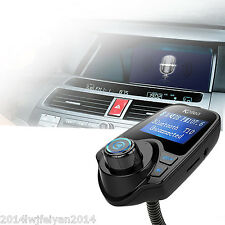 Wireless Bluetooth Auto KFZ Kit MP3  FM Transmitter Radio Adapter USB FL
