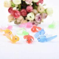 Aquarium Aquarium Schwimmen Simulation Goldfish Decor Bad Childen Spielzeug E2Y6