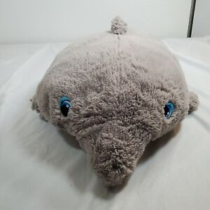 "My Favorite Snuggle Pillow Pet Dolphin Plush Jumbo 25""L 14""W Stuffed Animal XL"