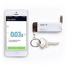 BACtrack Vio Smartphone Keychain Breathalyzer for iPhone and Android DUI BAC NEW