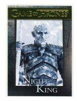 Game of Thrones Season 8 Night King Gold Parallel /175 Base Card #21