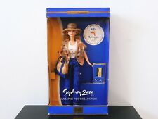 Sydney 2000 Barbie Doll - Olympic Pin Collector - NRFB