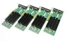 Dell Intel EXPX9502CX4 10Gig Dual Port CX4 PCI-e Server Adapter Card - LOT OF 4