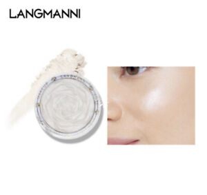 Langmanni Rose Silver glittery shade 01 Make Up Super Shiny 3 In 1 Highlighter