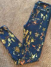 Lularoe OS leggings cut out Floral *Fall Print