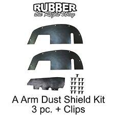 1996 1997 1998 1999 Chevy Suburban Tahoe A Arm Dust Shields - 2WD 3/4 & 1 Ton