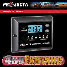 PROJECTA SOLAR CONTROLLER 4 STAGE 10AMP MAX PANEL SIZE 120W REGULATOR - SC110