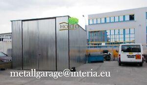 4X8 H:3 LAGERHALLE CARPORT Container HALLE Werkstatt BLECHGARAGE GARAGEN