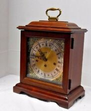 HOWARD MILLER U.S.A. WESTMINSTER CHIME 8 DAY BRACKET CLOCK 340 020 MODEL 612 437