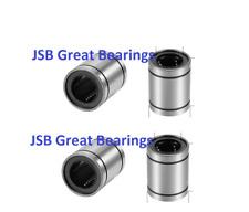 Qty4 Lme8uu Ball Bushing 8x16x25 Miniature Cnc Linear Motion Bearings Lme 8