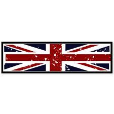 "United Kingdom Union Jack flag bumper sticker 8"" x 2"""