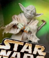 "New Star Wars Action Collection Yoda Figure Fully Poseable 1997 Kenner 5"" MISB"