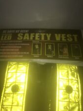 Led Flashing Saftey Vest