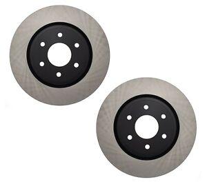 Pair Set 2 Front C-Tek Brake Disc Rotors For Nissan Frontier Pathfinder Xterra