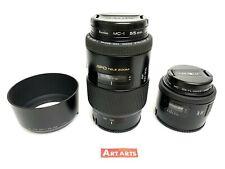【 SET SALE!! 】 Minolta AF 50mm F1.7 / APO TELE 100-300㎜ F4.5-5.6 Lens from JAPAN