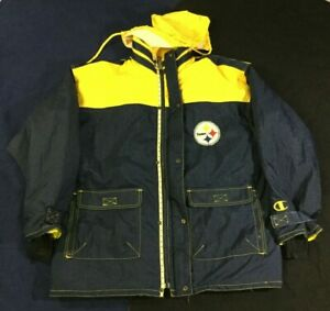 Vintage Pittsburgh Steelers Football-NFL Champion Jacket Size52