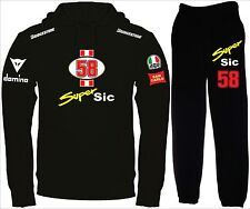 SUPER SIC SIMONCELLI tuta felpa maglietta polo t-shirt maglia hoodie honda N/N