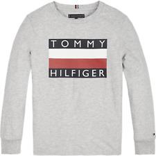 TOMMY HILFIGER BOYS LONGSLEEVE SHIRT LANGARM KB05426 NEU 2019 Gr.176 / 16 Y