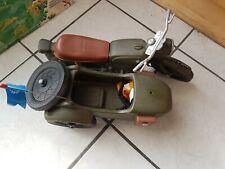 Action Team/Gi Joe -70 er Jahre-Motorrad +Beiwagen UN Friedenstruppe-70 er Jahre