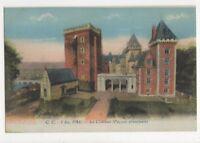 Pau Le Chateau Vintage Postcard France 522a