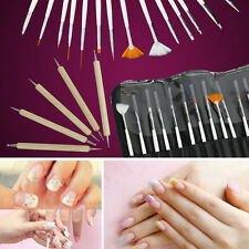 PANOPLY 20pcs Nail Art Design Painting Dotting Pen Brushes Tool Set / Nail Kit