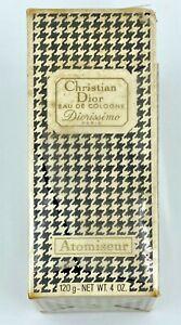 Christian dior diorissimo eau de cologne 120 ml 4 fl oz VINTAGE SEALED