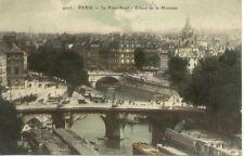 PARIS 4003 le pont-neuf écluse de la monnaie
