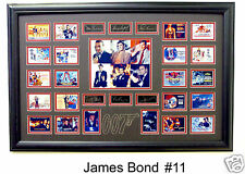 JAMES BOND 007  (NEW) Framed 22 Photo Collage 24x36