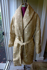 Anne Rene' Silk Embroidered One of a Kind Opera/Special Occasion Coat NWOT M/L