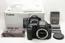 Canon EOS 30D 8.2MP Digital SLR Camera Black Body Only #210109q