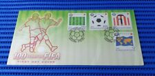 2004 Singapore First Day Cover 100 Years of FIFA Commemorative Stamp Issue